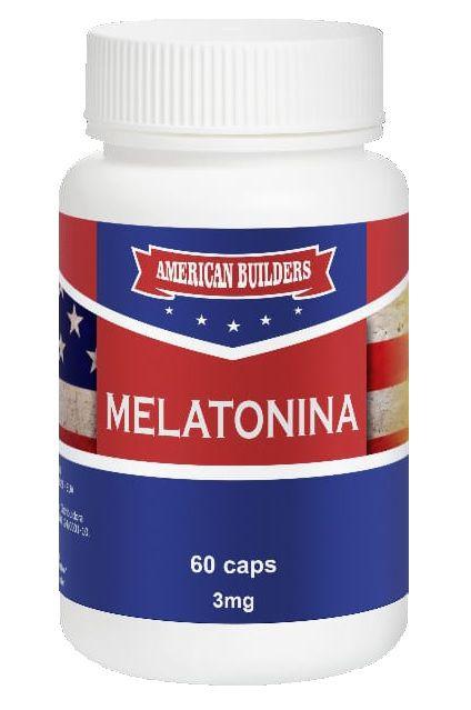 Melatonina 3mg American Builders - 60 caps