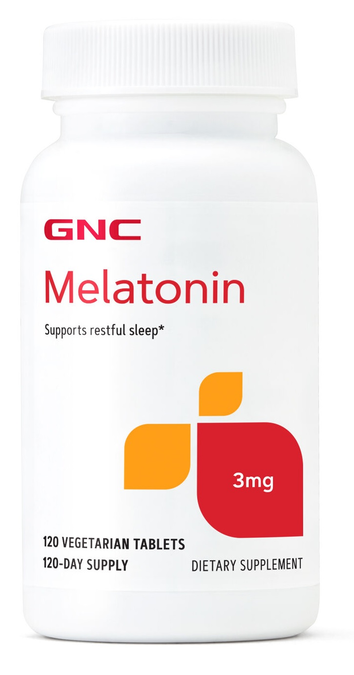 Melatonina 3mg GNC - 120 tabletes