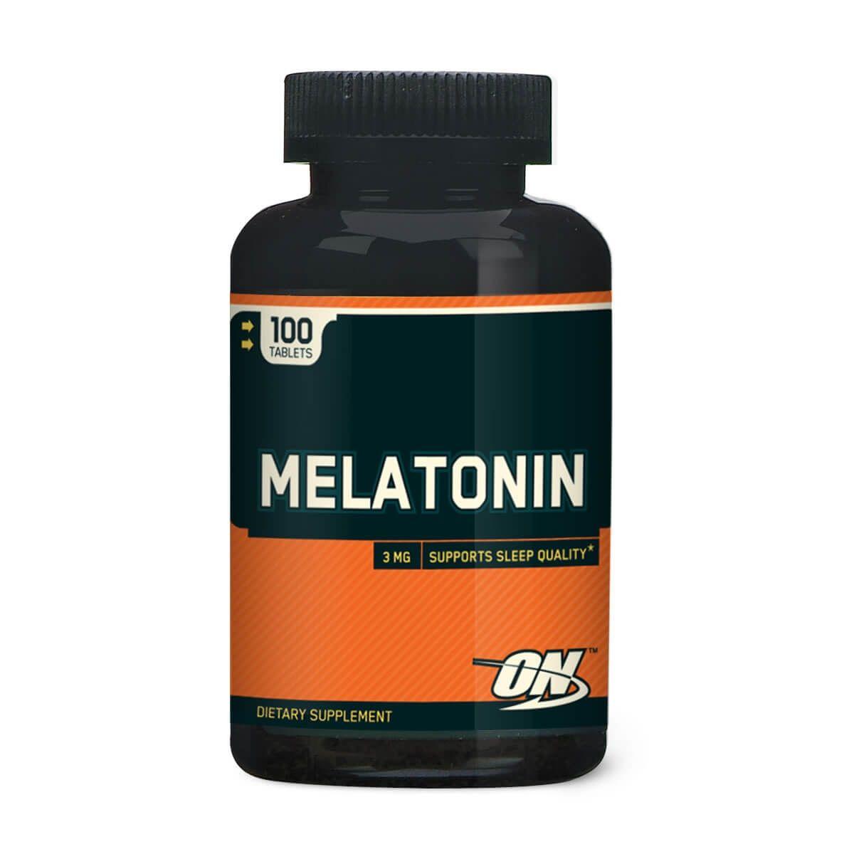 Melatonina Optimum Nutrition - 100 caps