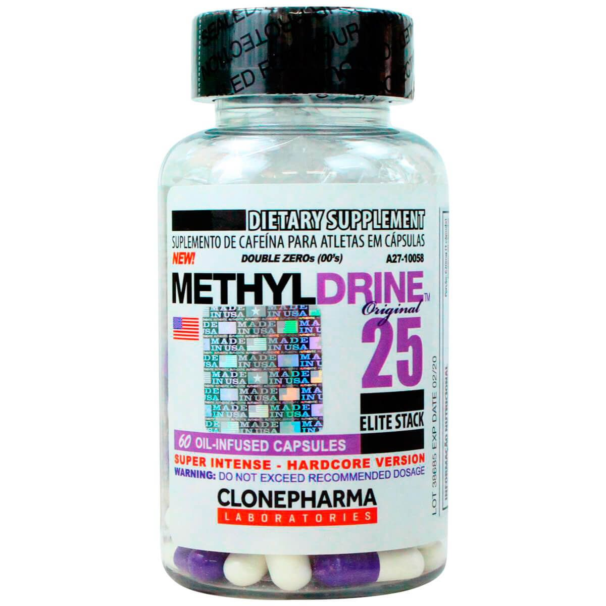 Methyldrine 25 Clone Pharma - 60 caps