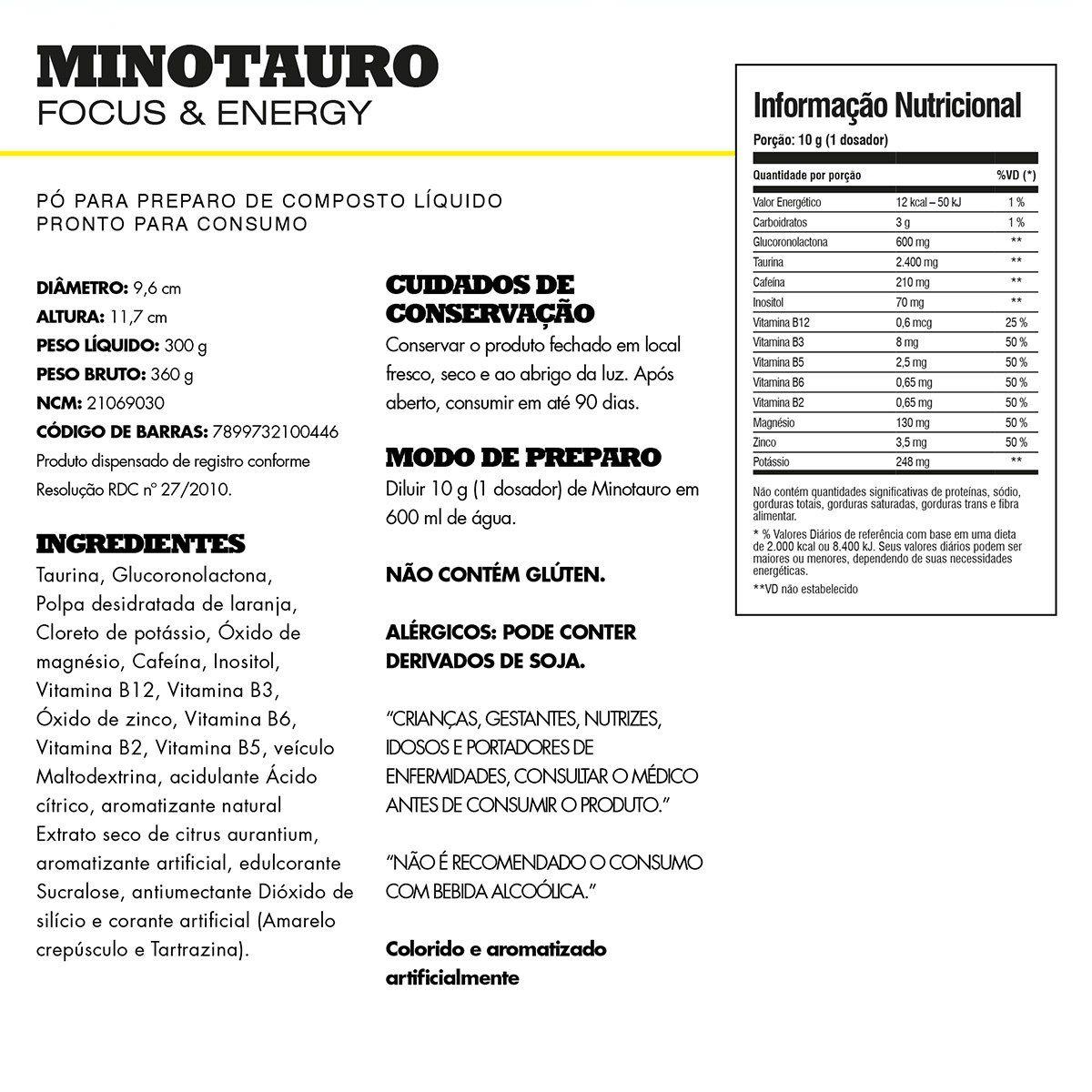 Minotauro Iridium Labs - 300g