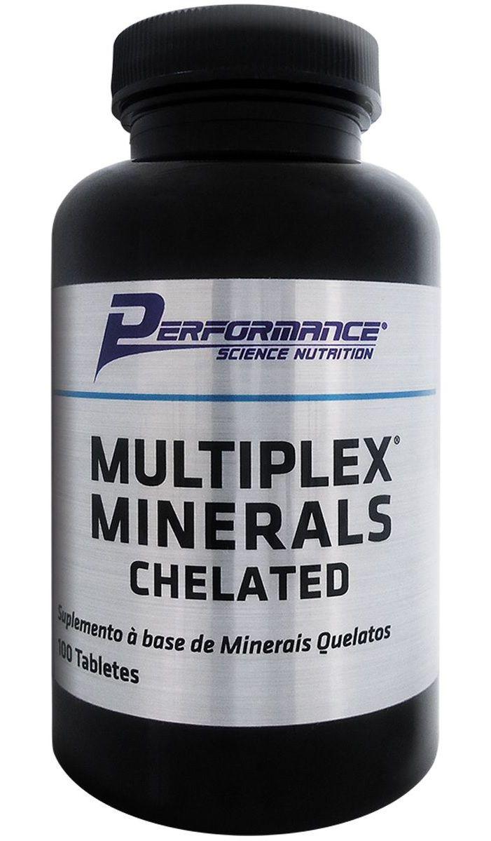 Multiplex Minerals Performance Nutrition - 100 tabletes