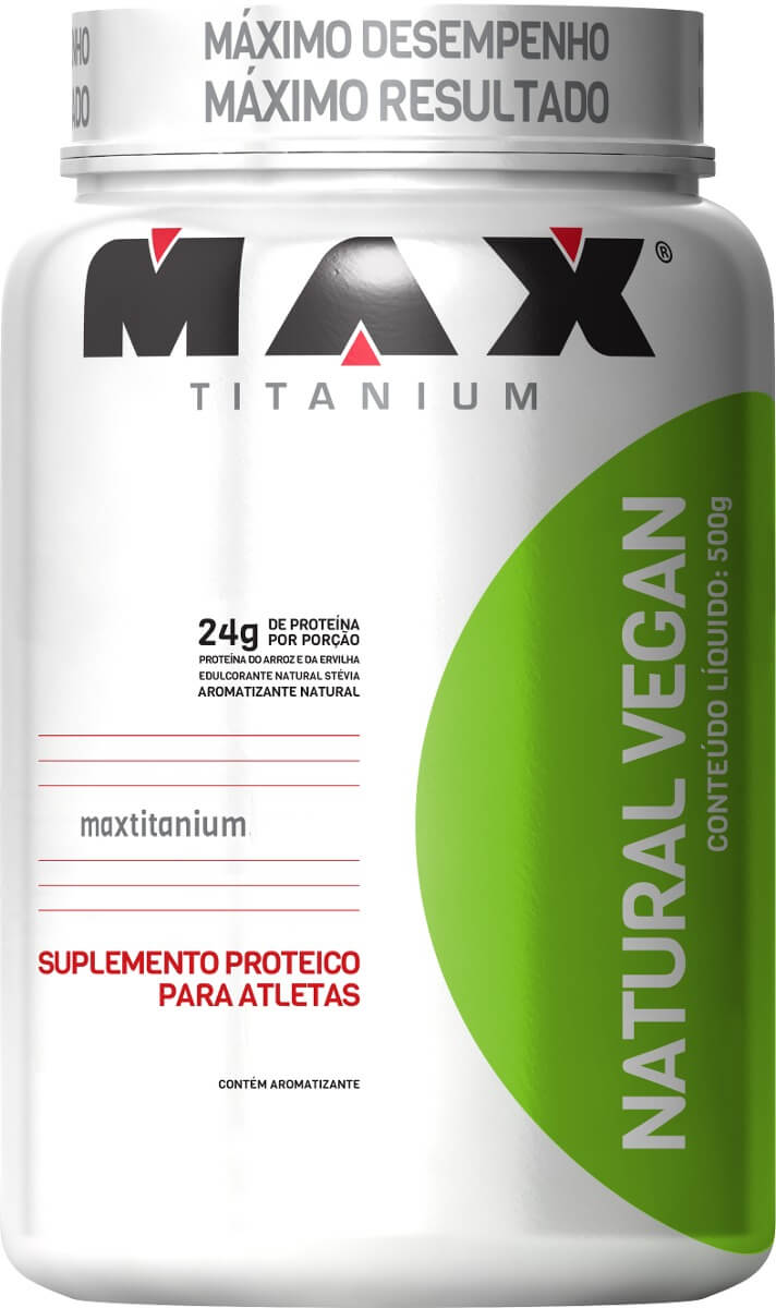 Natural Vegan Max Titanium - 500g