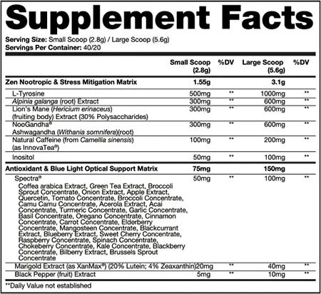 Neuromorph Dragon Pharma - 40 doses