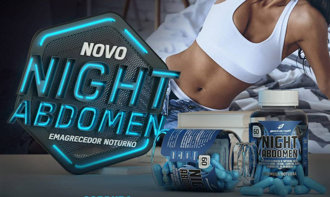 Night Abdomen Body Action - 60 caps