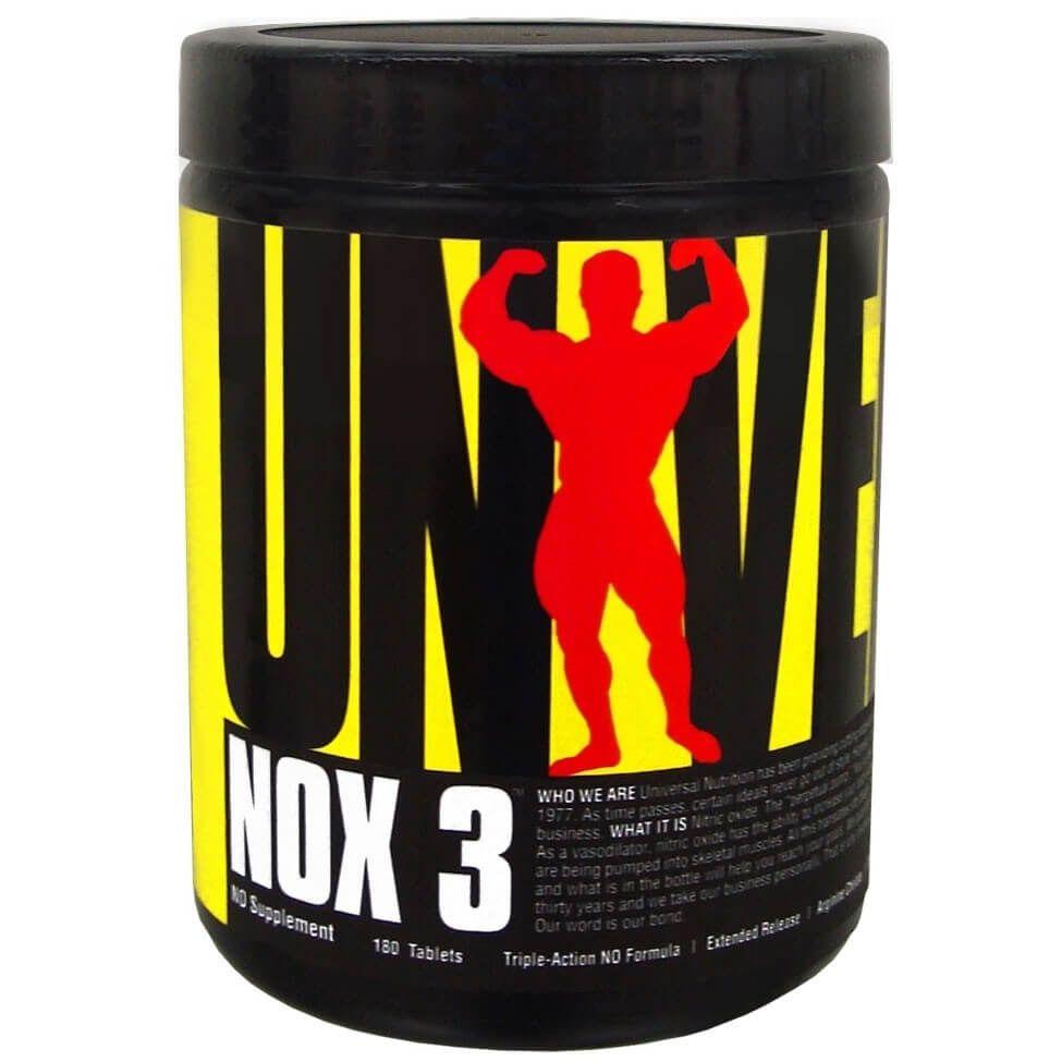 NOX3 Universal Nutrition - 180 tabletes