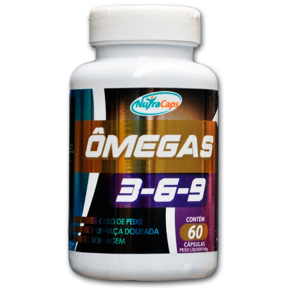 Ômega S 3-6-9 NutraCaps - 60 caps