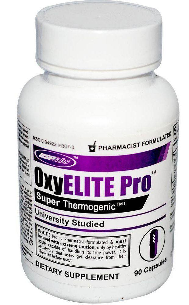 OxyElite Pro USPLabs - 90 caps