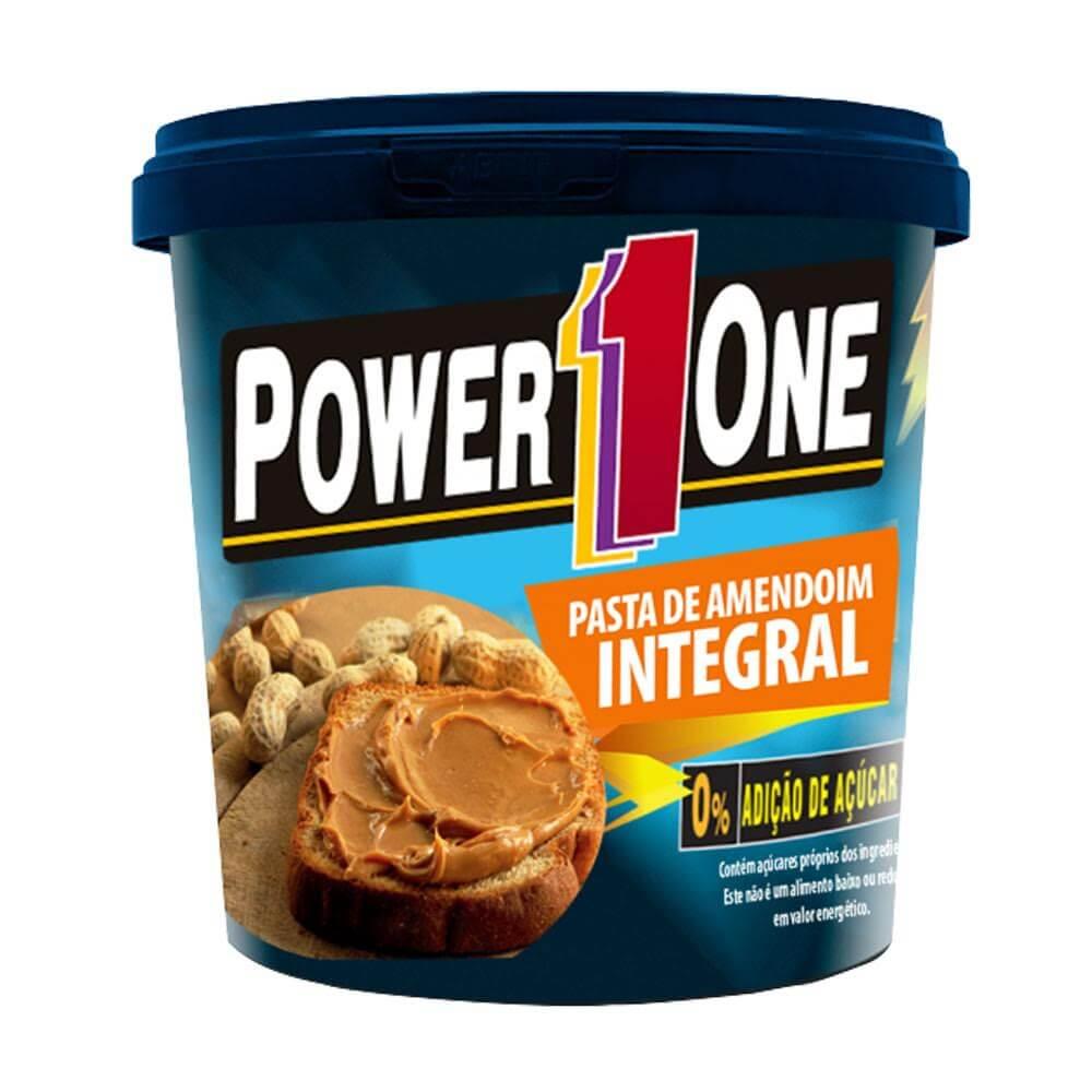 Pasta de Amendoim Power One - 1kg