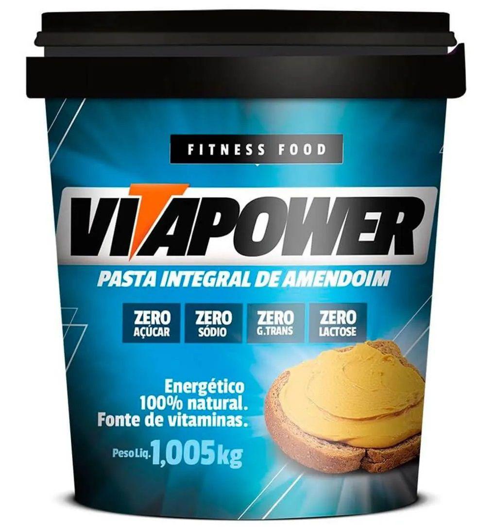 Pasta de Amendoim VitaPower - 1kg
