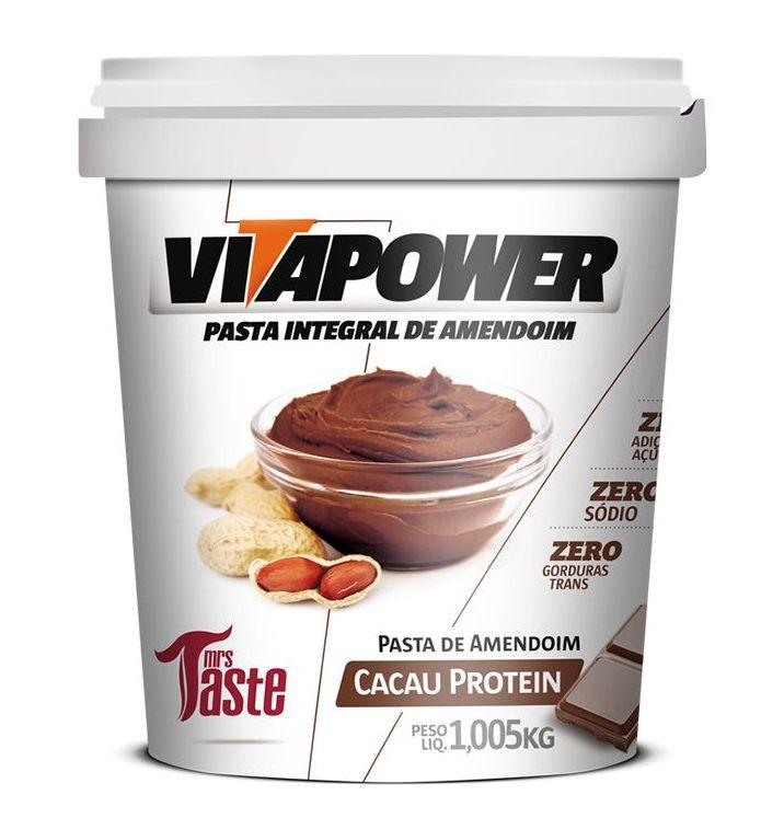 Pasta Integral Cacau Protein VitaPower  - 1kg