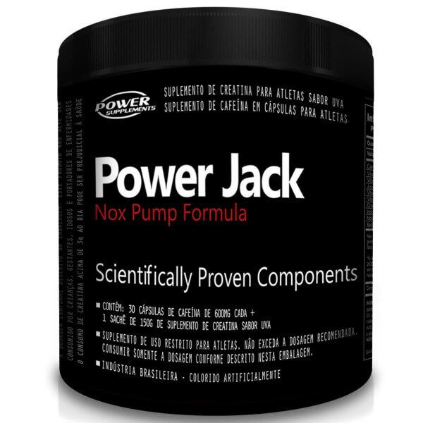 Power Jack Power Supplements - 30 doses