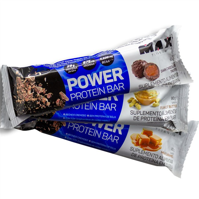 Power Protein Bar Max Titanium - 90g