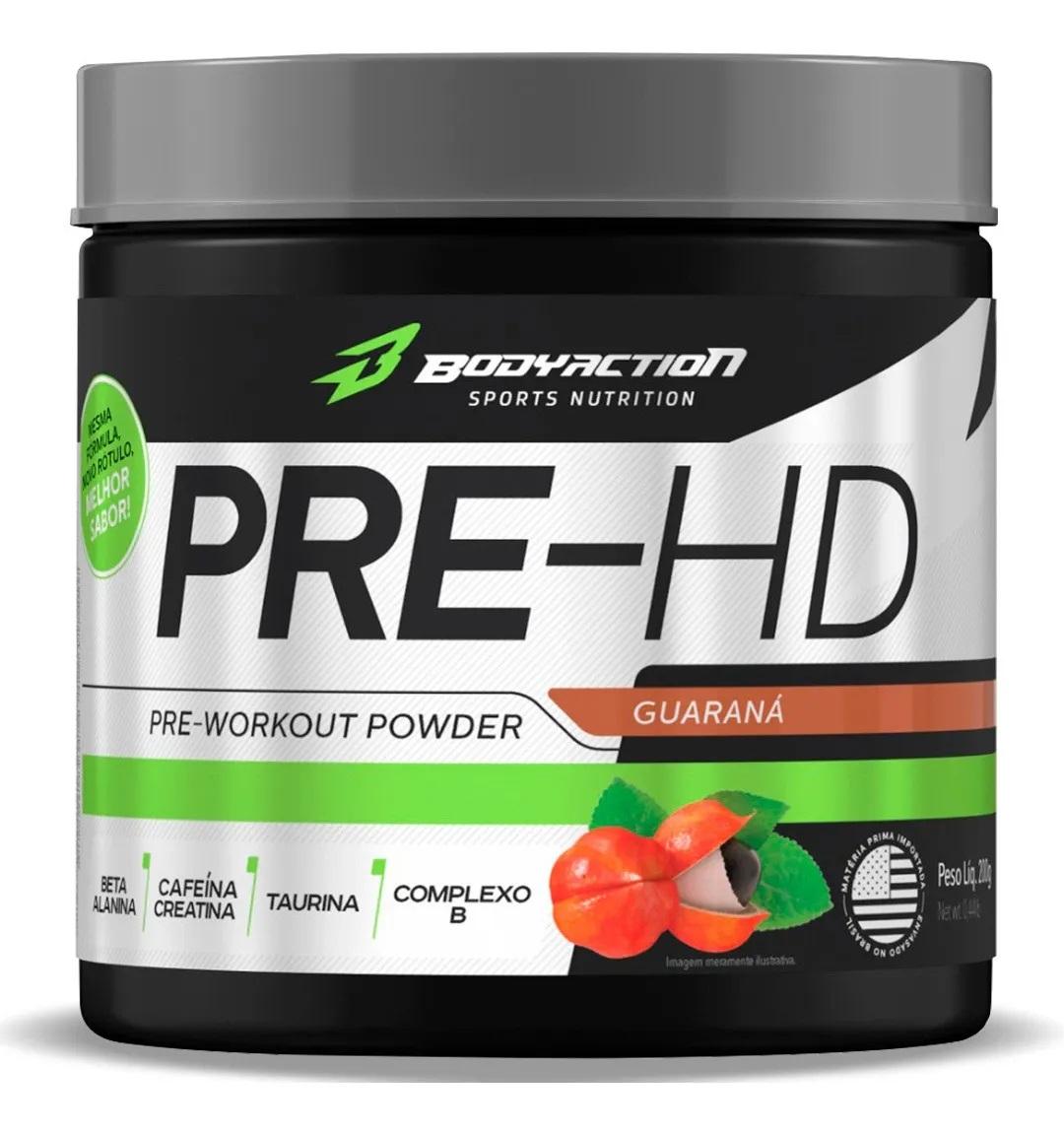 Pre-HD Pre Workout Body Action - 200g