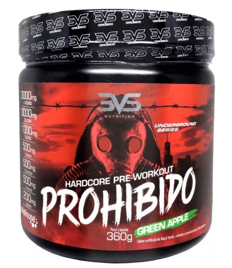 Pré-Treino Prohibido 3VS Nutrition - 360g