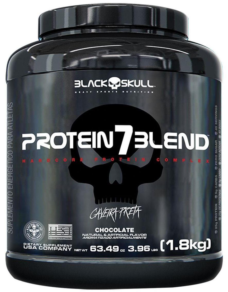 Protein 7 Blend Black Skull - 1.8kg