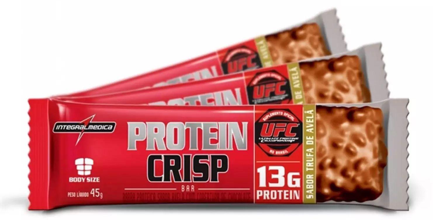 Protein Crisp Bar IntegralMedica 45g - (1 unidade)