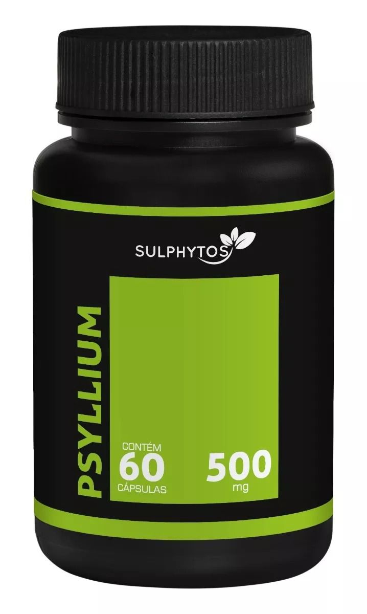 Psyllium 500mg Sulphytos - 60 caps
