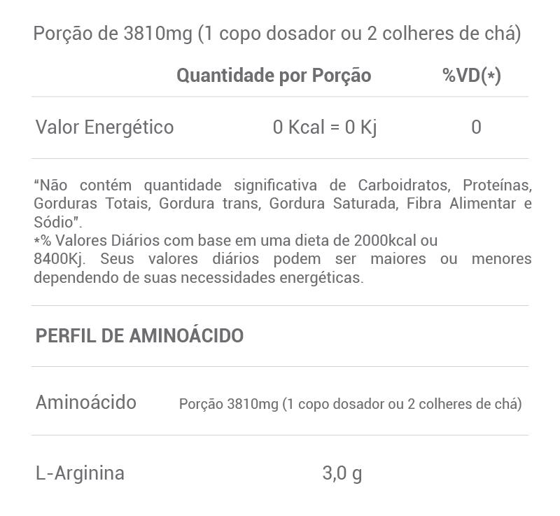 Pure Arginina Golden Science - 150g