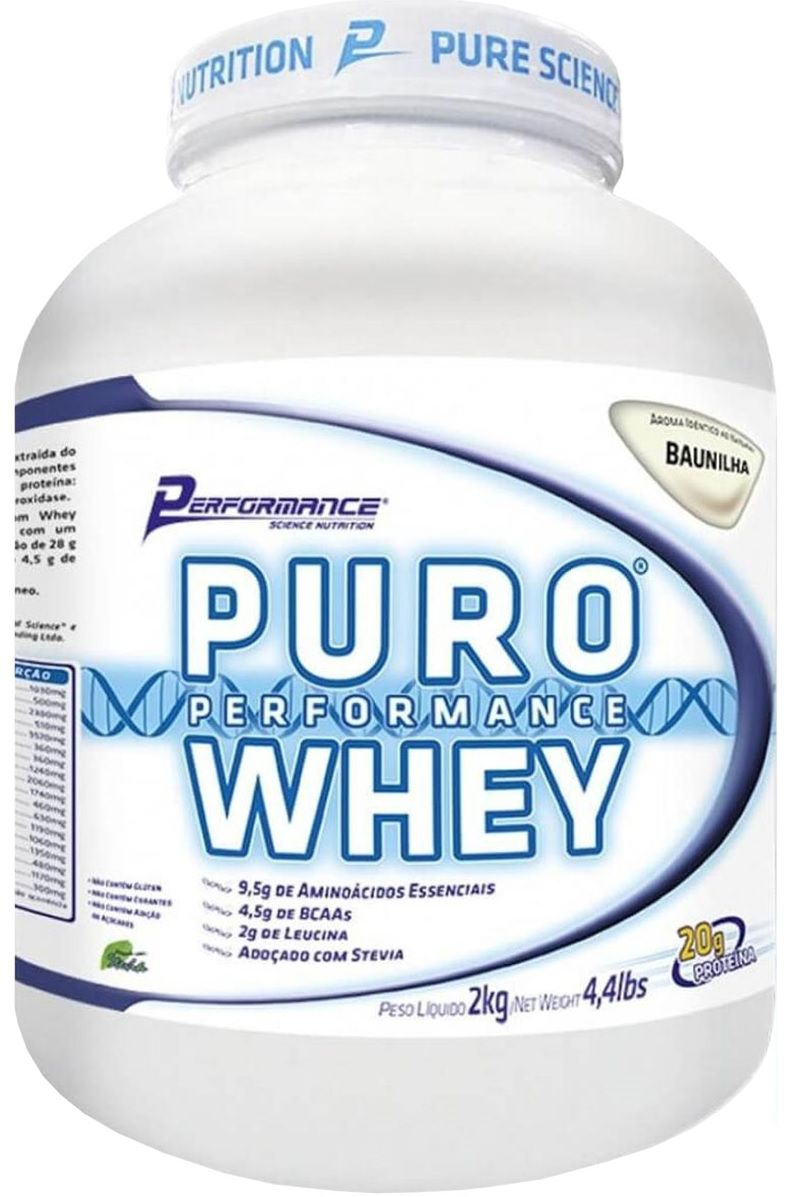 Puro Performance Whey Performance Nutrition - 2kg