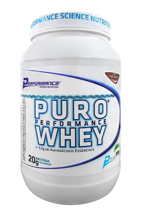Puro Performance Whey Performance Nutrition - 900g
