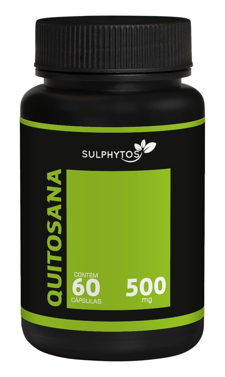 Quitosana 500mg Sulphytos - 60 caps
