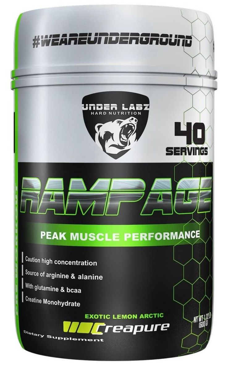 Rampage Pré-Workout Under Labz - 600g