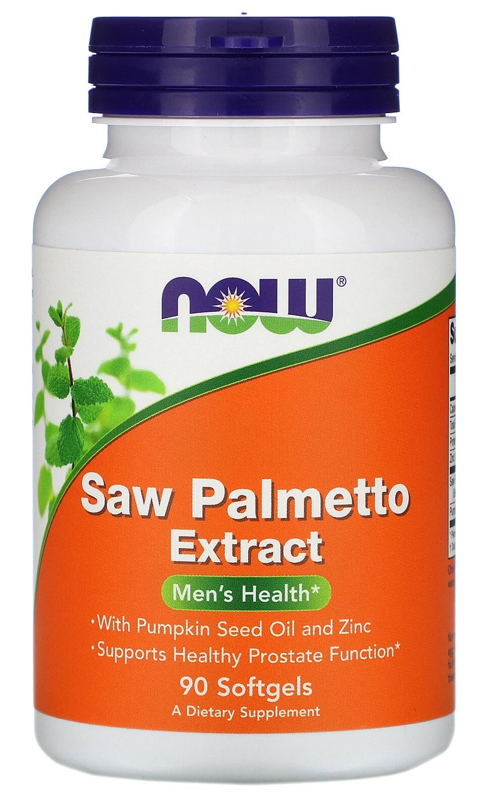 Saw Palmetto Extract 320mg Now Foods - 90 caps