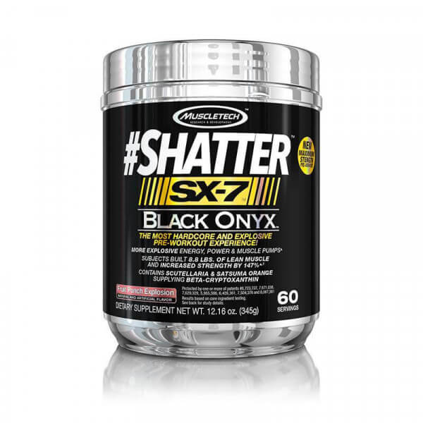 Shatter SX-7 Black Onix MuscleTech - 60 doses