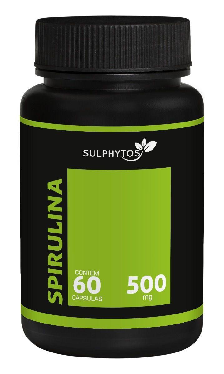 Spirulina 500mg Sulphytos - 60 caps