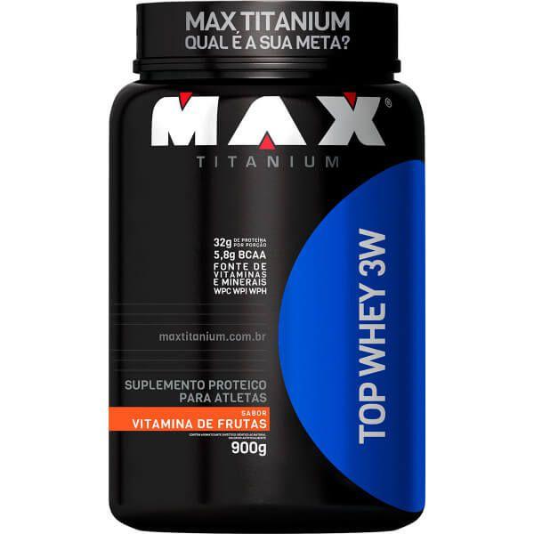 Top Whey 3W Max Titanium - 900g