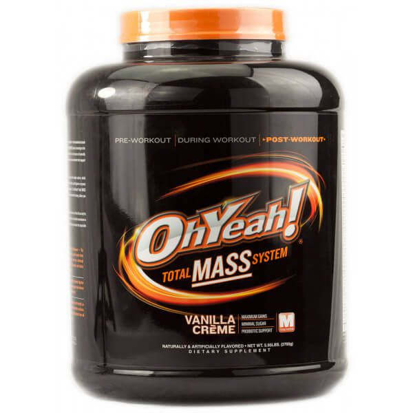 Total Mass Oh Yeah! - 2.7kg