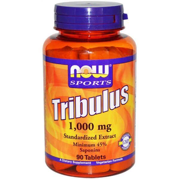 Tribulus 1000mg Now Sports - 90 tabletes