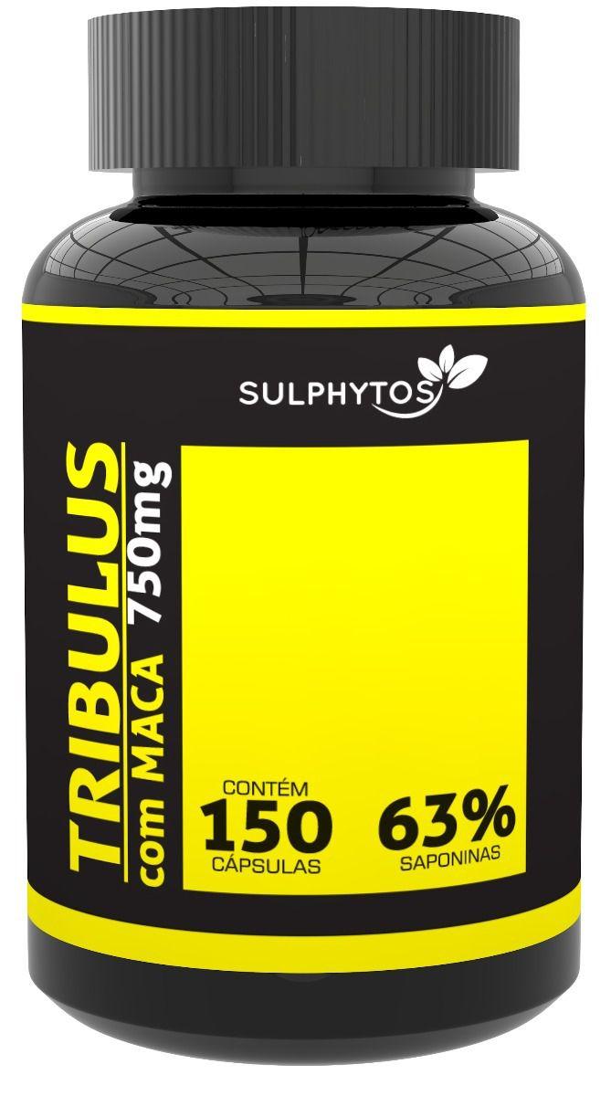 Tribulus com Maca Peruana 750mg Sulphytos - 150 caps
