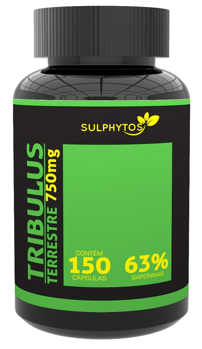 Tribulus Terrestre 750mg Sulphytos - 150 caps