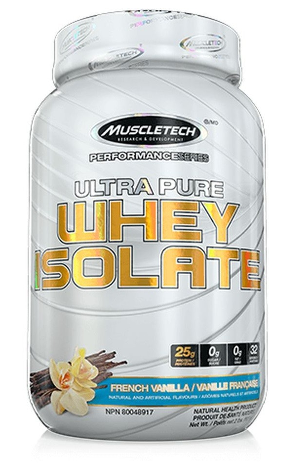 Ultra Pure Whey Isolate MuscleTech - 907g