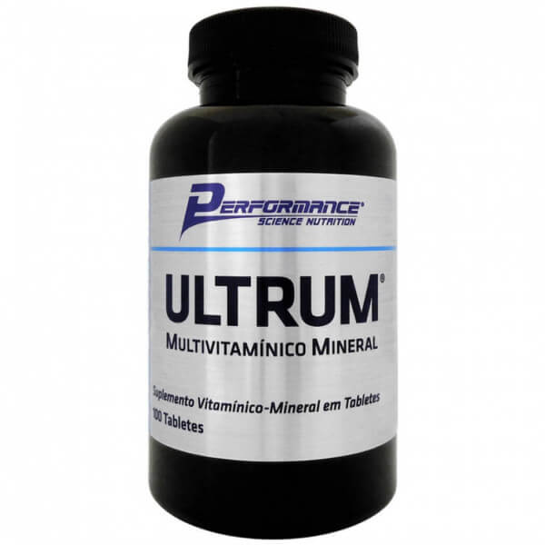 Ultrum Multivitaminico  Performance Nutrition - 100 tabletes