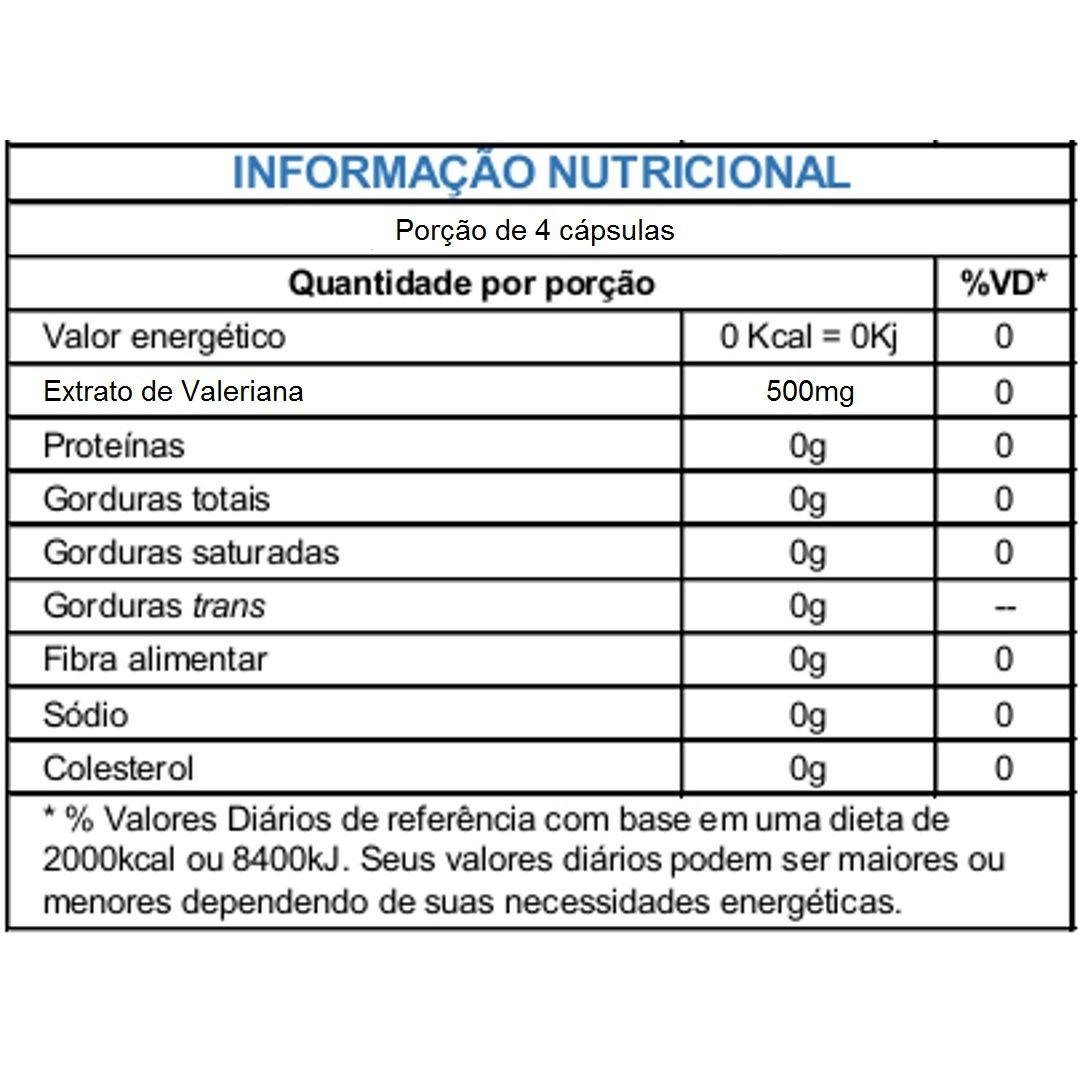 Valeriana 500mg Sulphytos - 60 caps