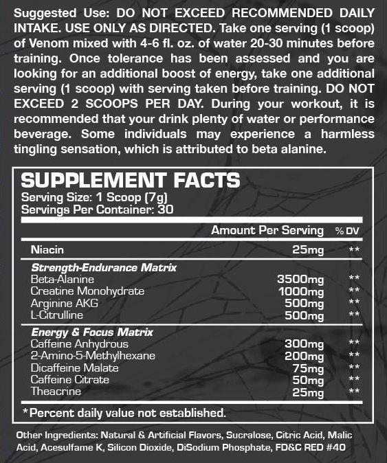 Venom Dragon Pharma - 30 doses