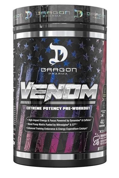 Venom Pre-Workout Dragon Pharma - 40 doses