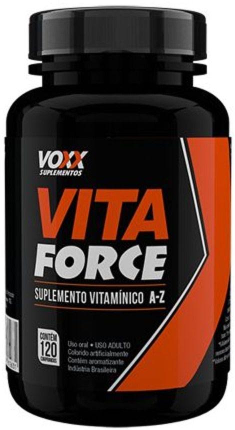 Vita Force Voxx Suplementos - 120 caps