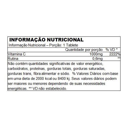 Vitamina C 1000mg Performance Nutrition - 100 tabletes