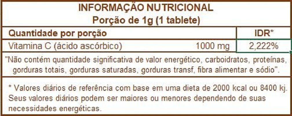 VitaOne Vitamina C 1G One Farma (10 tabletes)