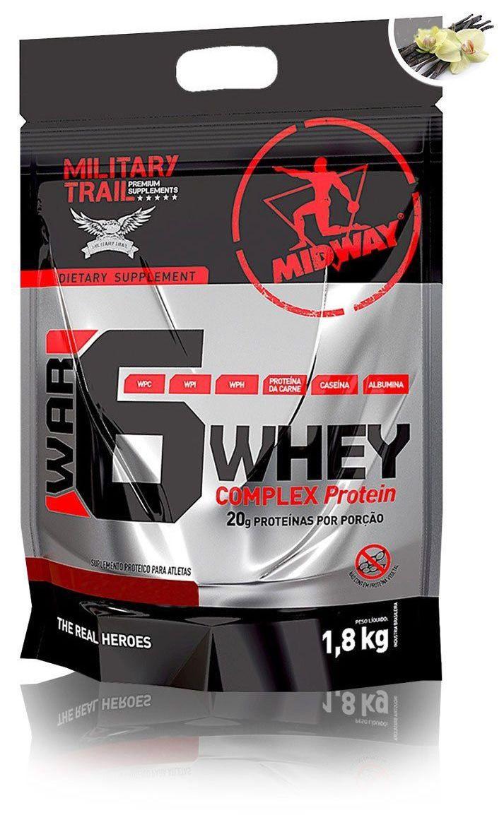 War 6 Whey Complex Protein Midway - 1.8Kg
