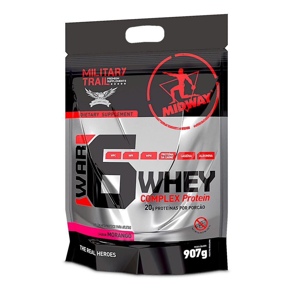 War 6 Whey Complex Protein Midway - 900g