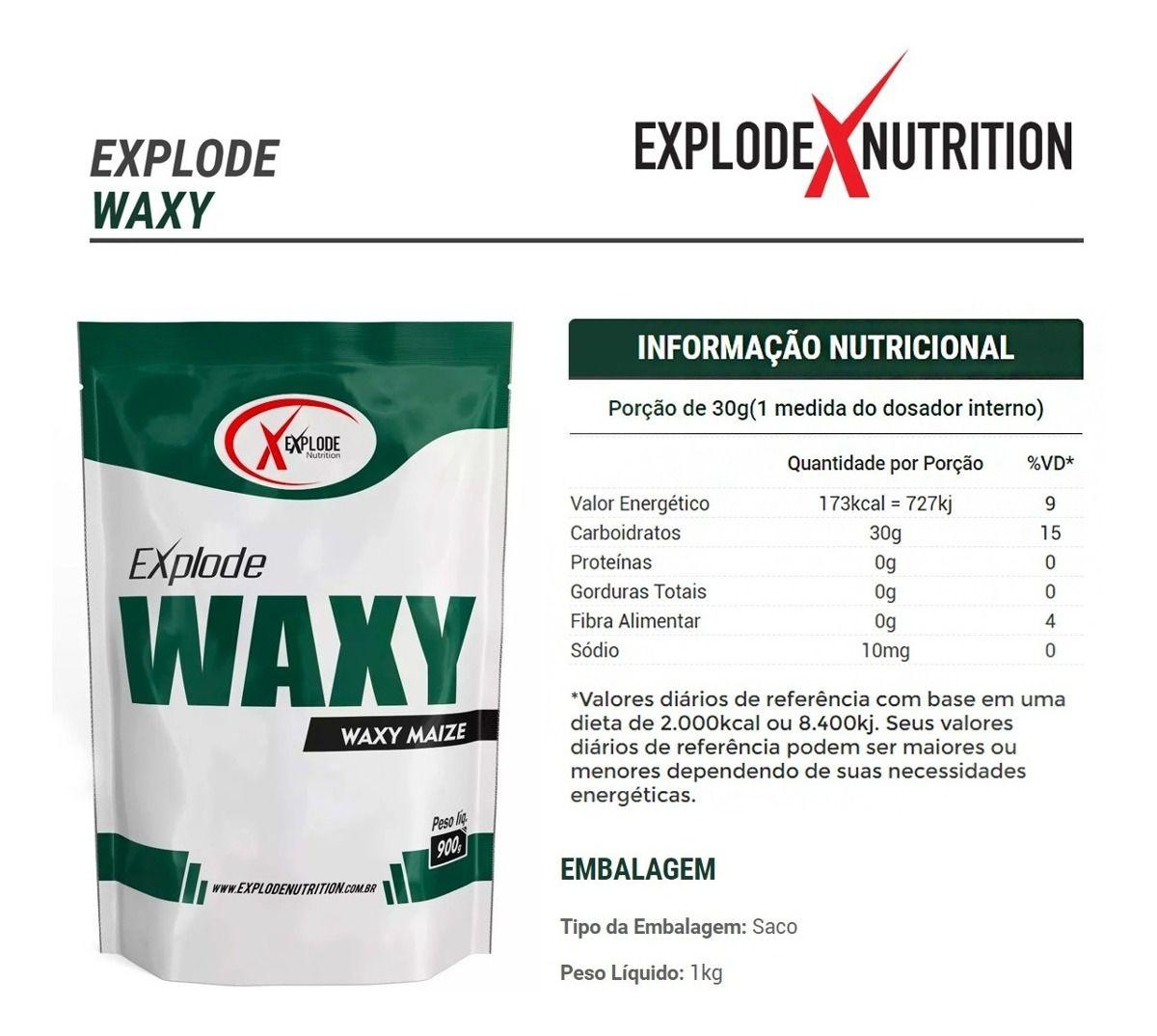 Waxy Maize Explode Nutrition - 1kg
