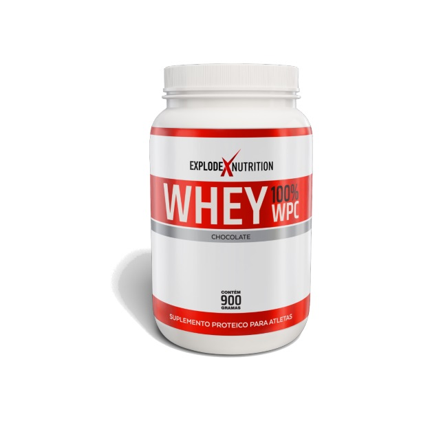 Whey 100% Concentrado Explode Nutrition - 900g