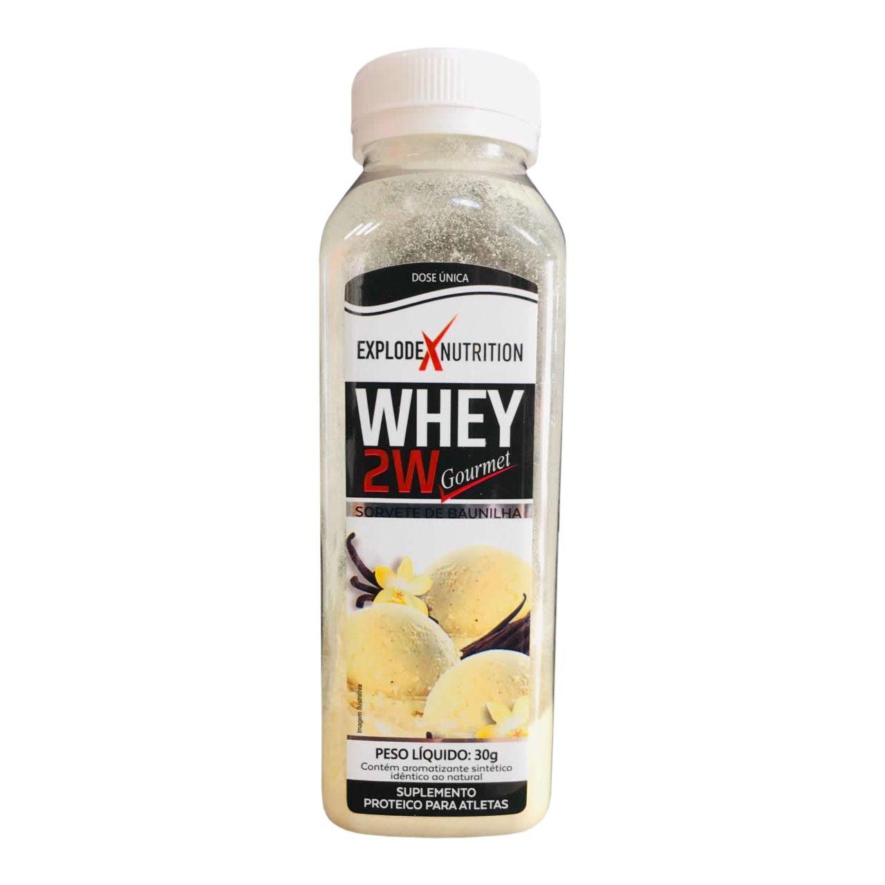 Whey 2W Gourmet Explode Nutrition - 30g (1 dose)