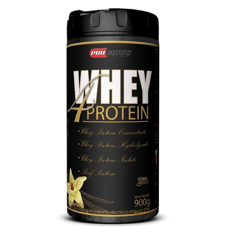 Whey 4 Protein Pro Corps - 900g