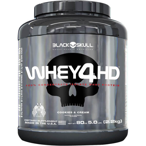 Whey 4HD Black Skull - 2.3kg